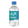Gerecycled PET waterflesje 0,33L