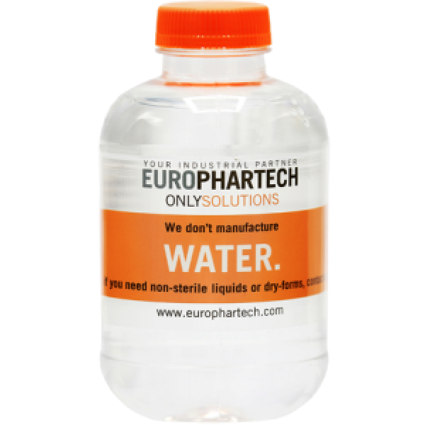 Bedrukt waterflesje 250 ml