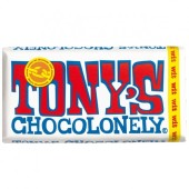 Tony's Chocolonely Wit chocoladereep, 180 gram