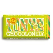Tony's Chocolonely Wit-Wortel-Walnoot reep, 180 gram